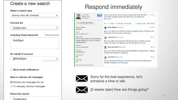 social inbox hubspot features
