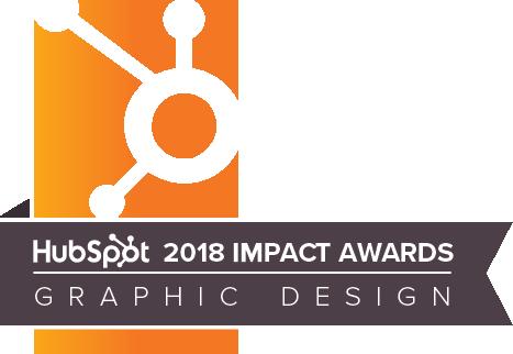 HubSpot Impact Award for Graphic Design