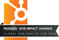 Hubspot 2018 Global Partner Of The Year