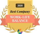 best work-life balance comparably 2020
