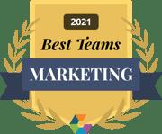 Best Marketing Teams of 2021