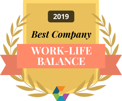 best work-life balance comparably 2019