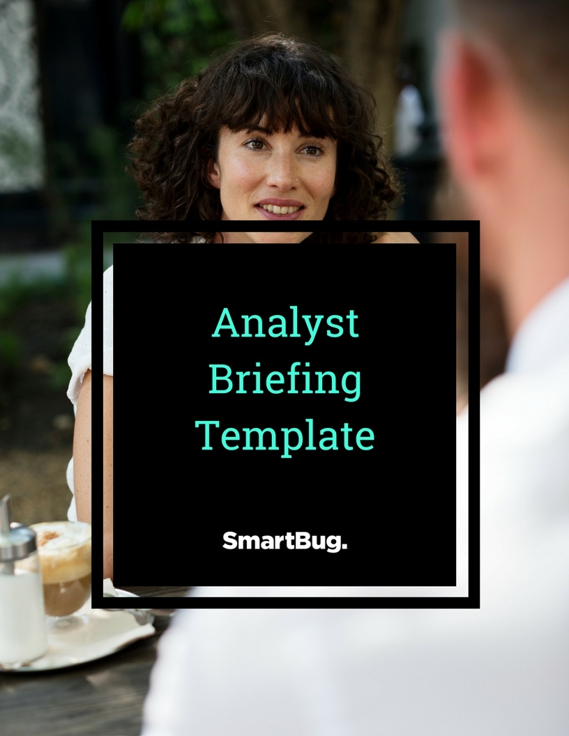 Analyst Briefing Template