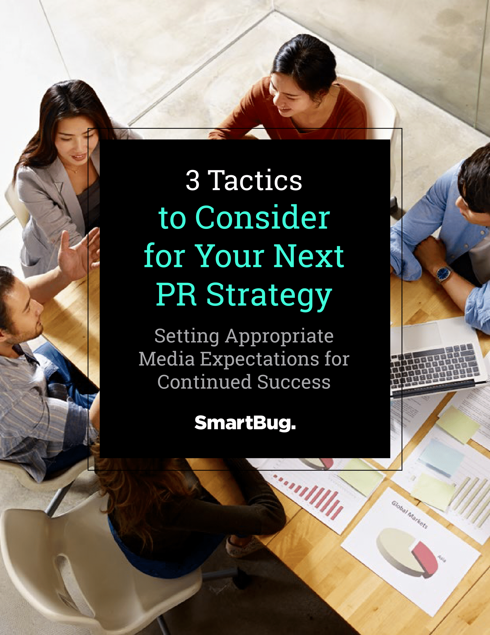 Cover of 3 Tactics to Consider for Your Next PR Strategy e-book