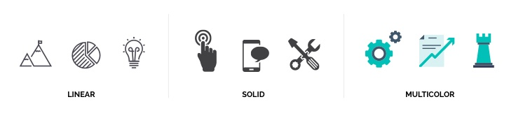Creating a Brand Style Guide - icons