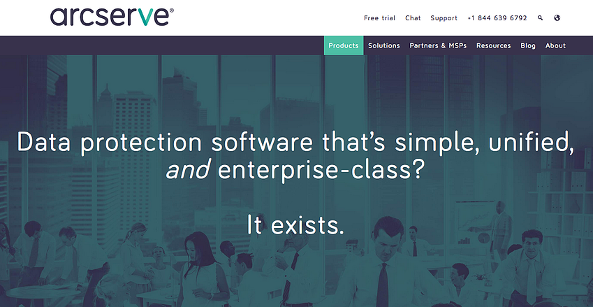 arcserve-website