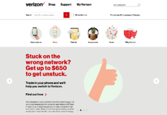 verizon call to action example