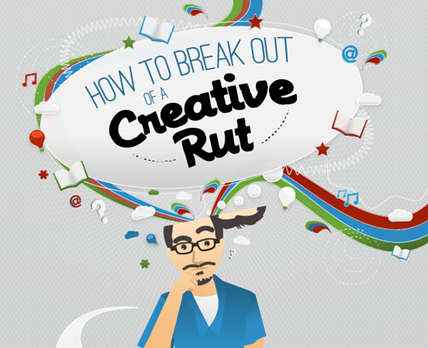 How to break out of a creative rut via CopyBlogger