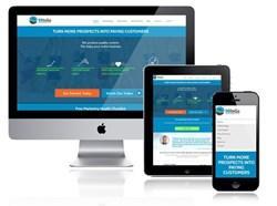 responsive design shown on desktop, tablet and phone