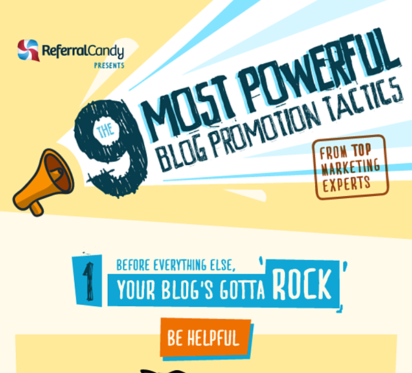 9 most powerful blog promotion tactics via Referral Candy