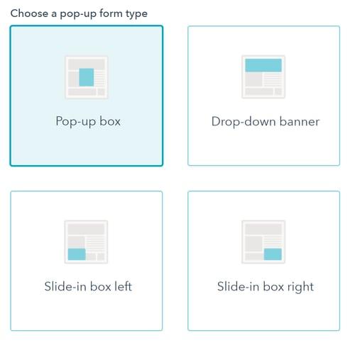 pop-up-form-types