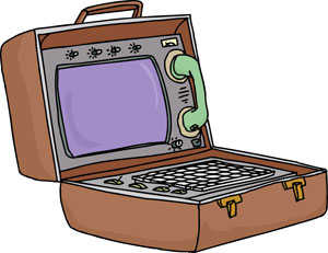 suitcase-computer-with-phone