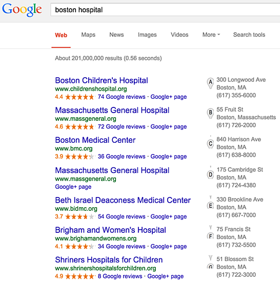 hospital-search-results