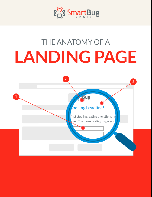 The anatomy of a landing page cover