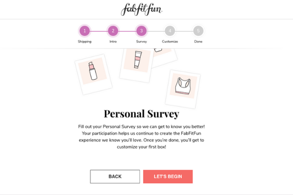 FabFitFun Survey