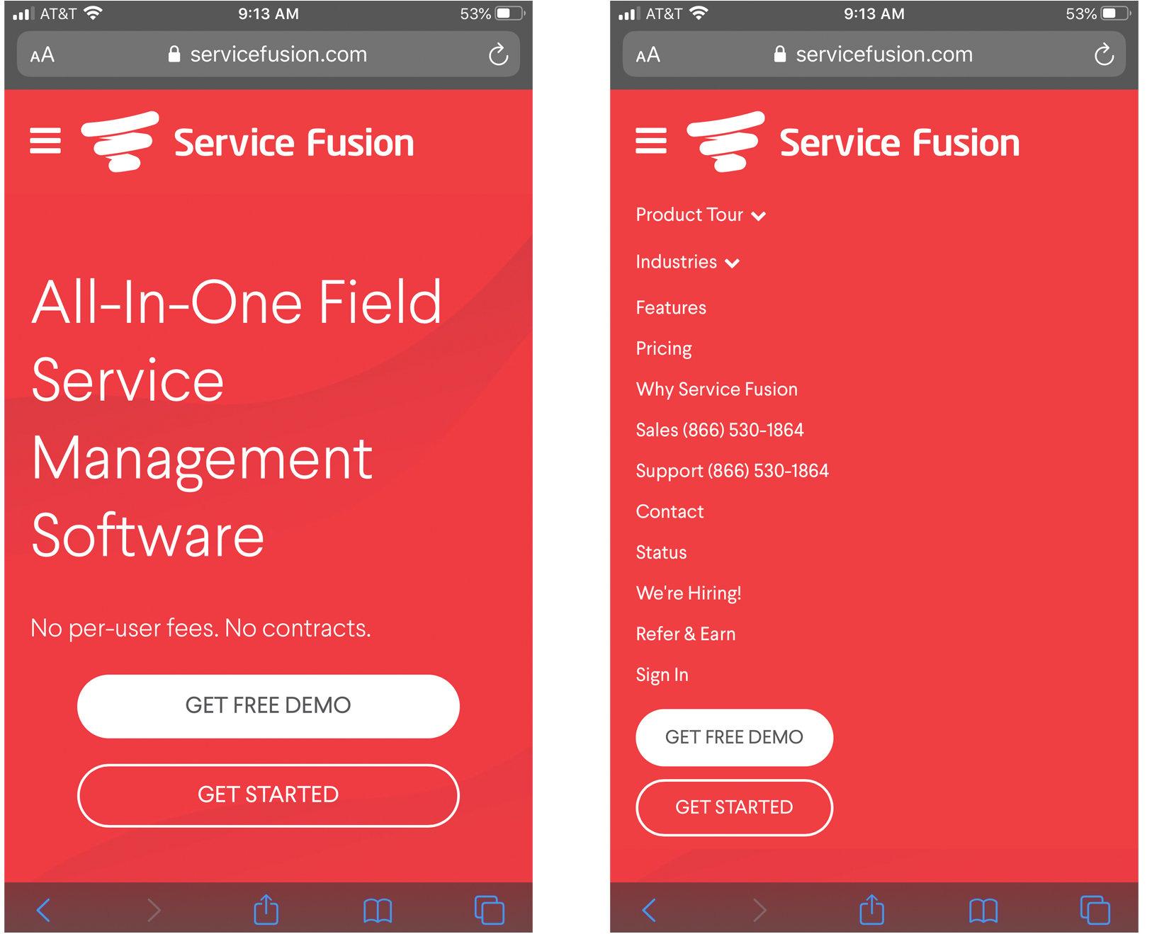 mobile-website-navigation-example
