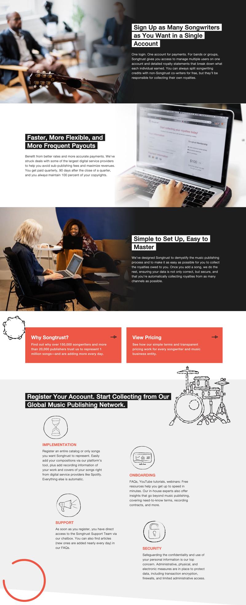 Songtrust Website Interior 1