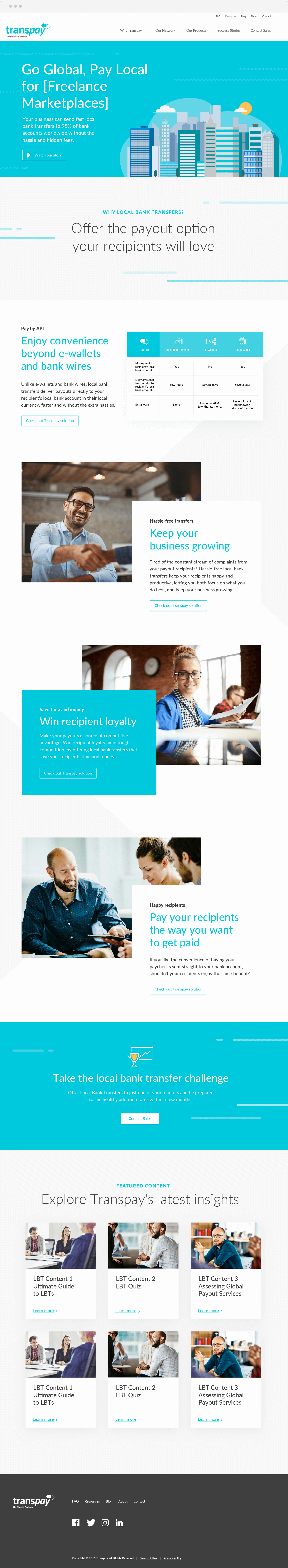 WebDesign-Transpay-homepage