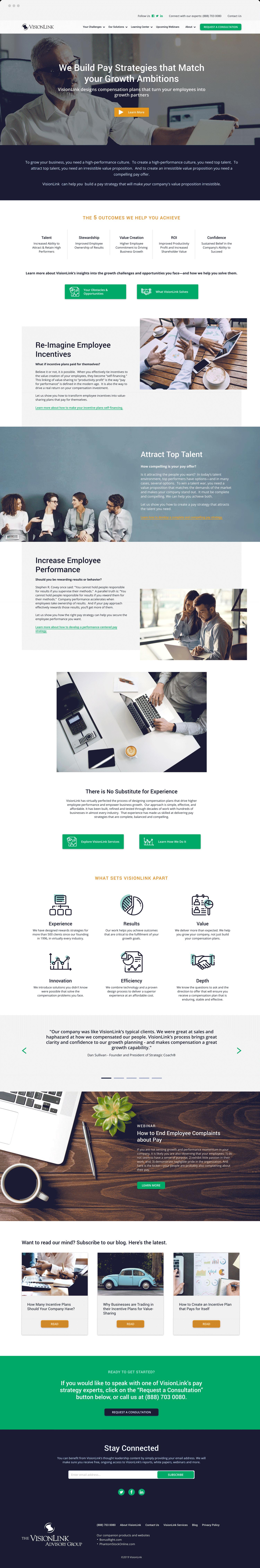 WEB - VisionLink- Homepage