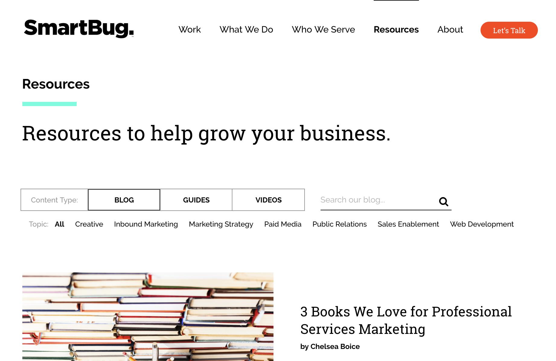 SmartBug Media Intelligent Inbound Blog
