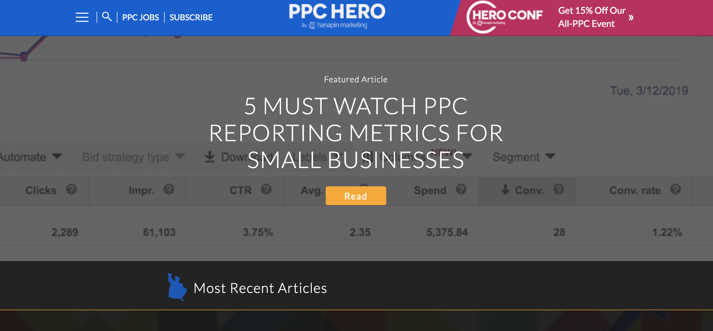 PPC Hero content resources