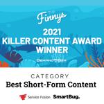 Service Fusion Finny Award
