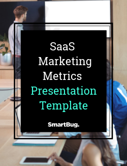 SaaS Marketing Metrics Presentation Template