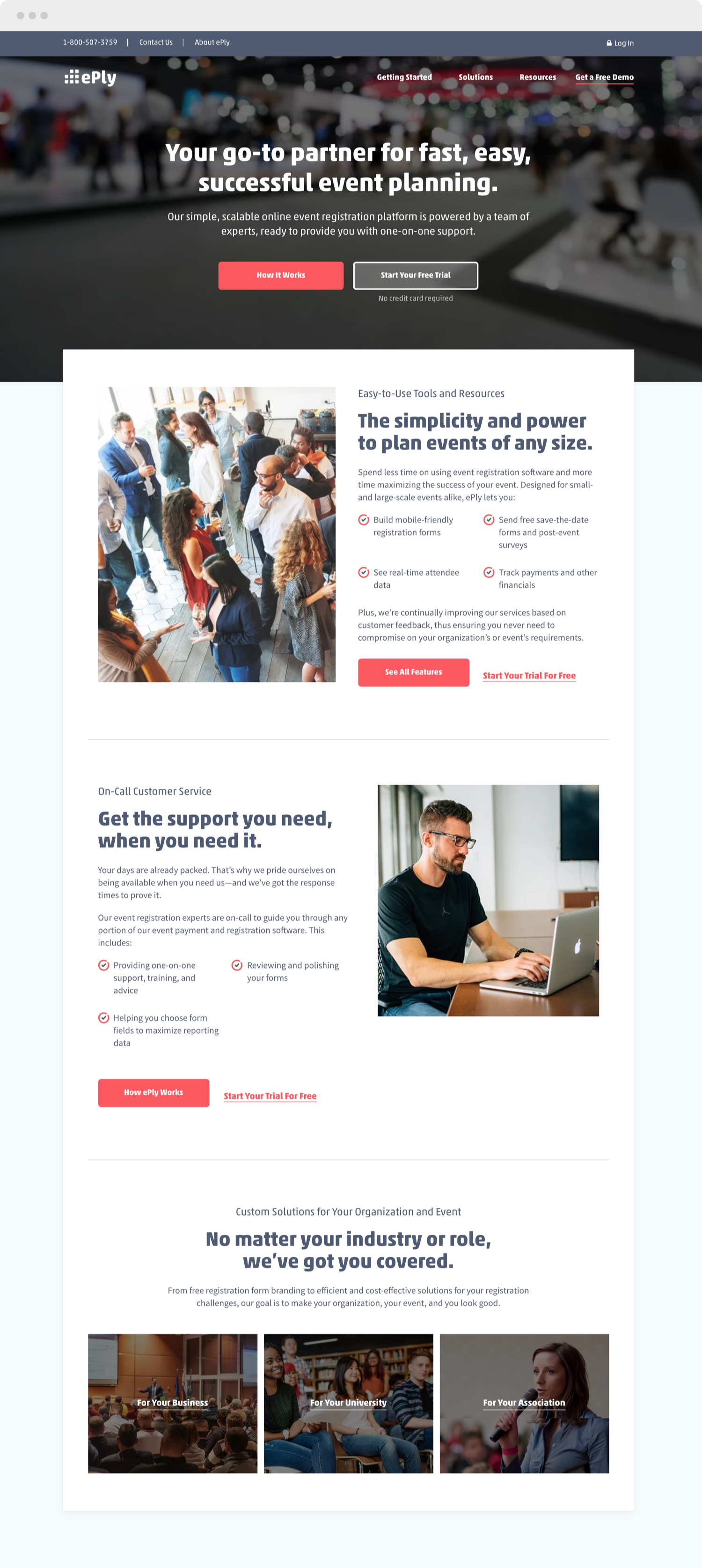 ePly homepage