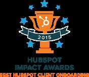 HubSpot Impact Award Best HubSpot Client Onboarding