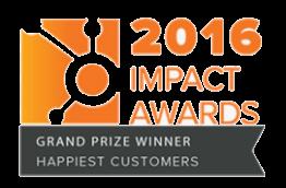 HubSpot Impact Award Grand Prize Winner - Happiest Customers