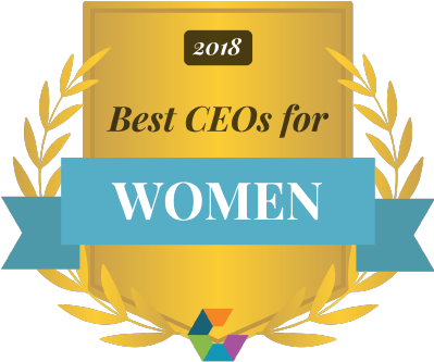 Comparably Award - Best CEOs for Women
