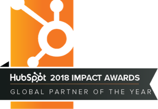 HubSpot Impact Award for Global Partner of the Year