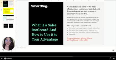 sales battlecard tutorial