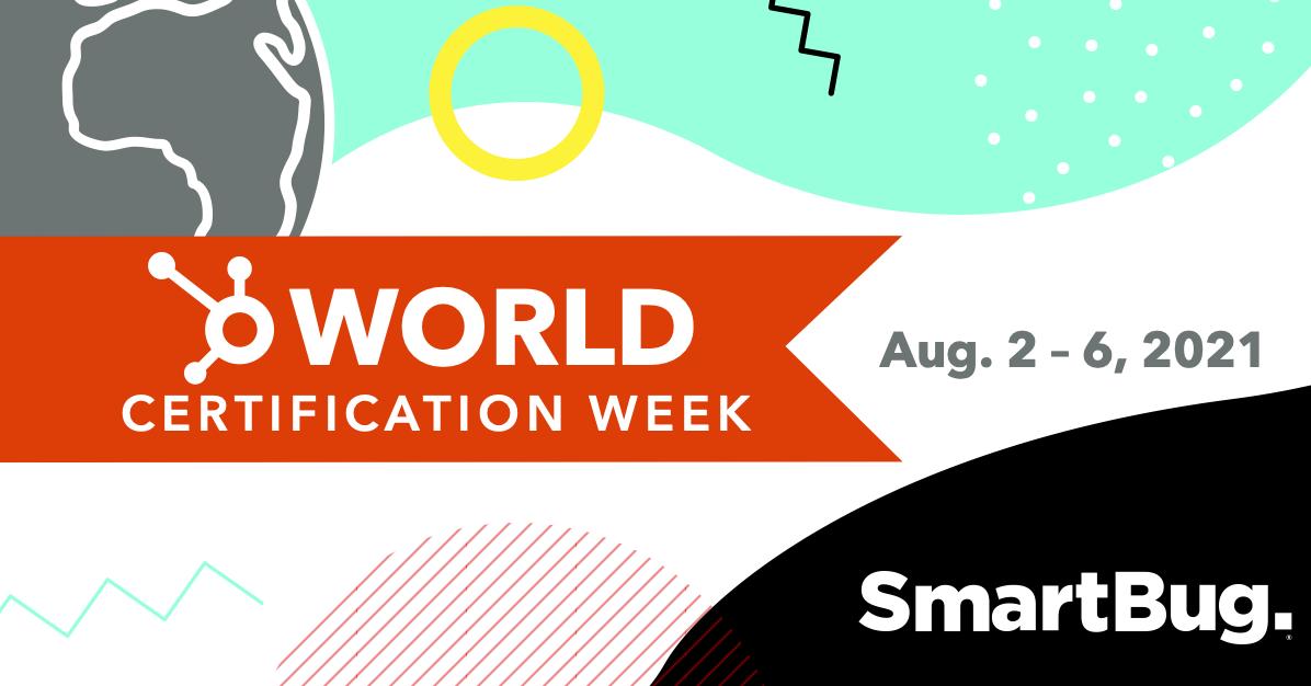 SmartBug HubSpot World Certification Day