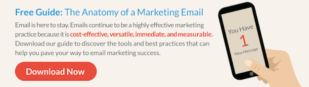 The Anatomy of a Marketing Email Guide
