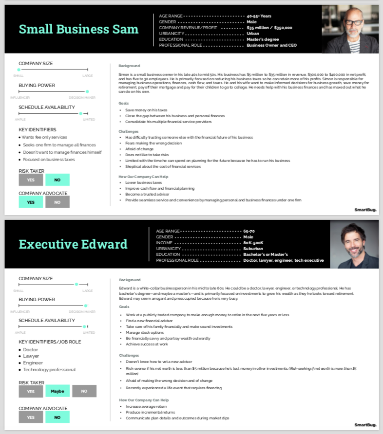 Financial Services Buyer Persona Template-1