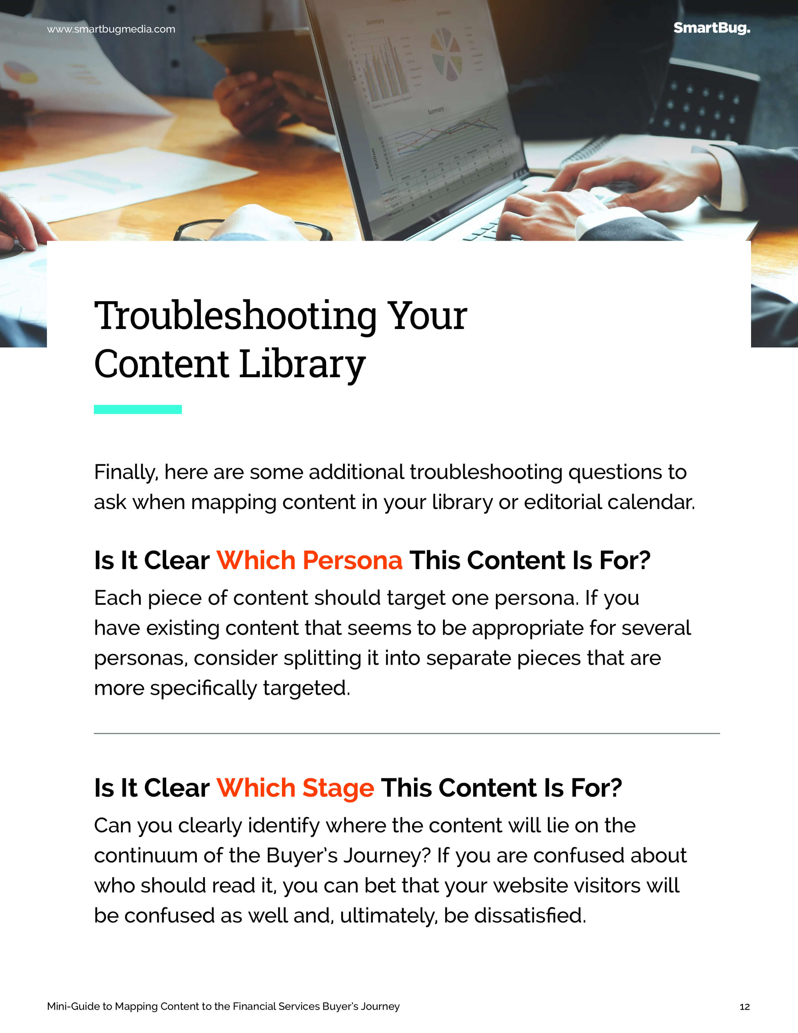 Audit your content library