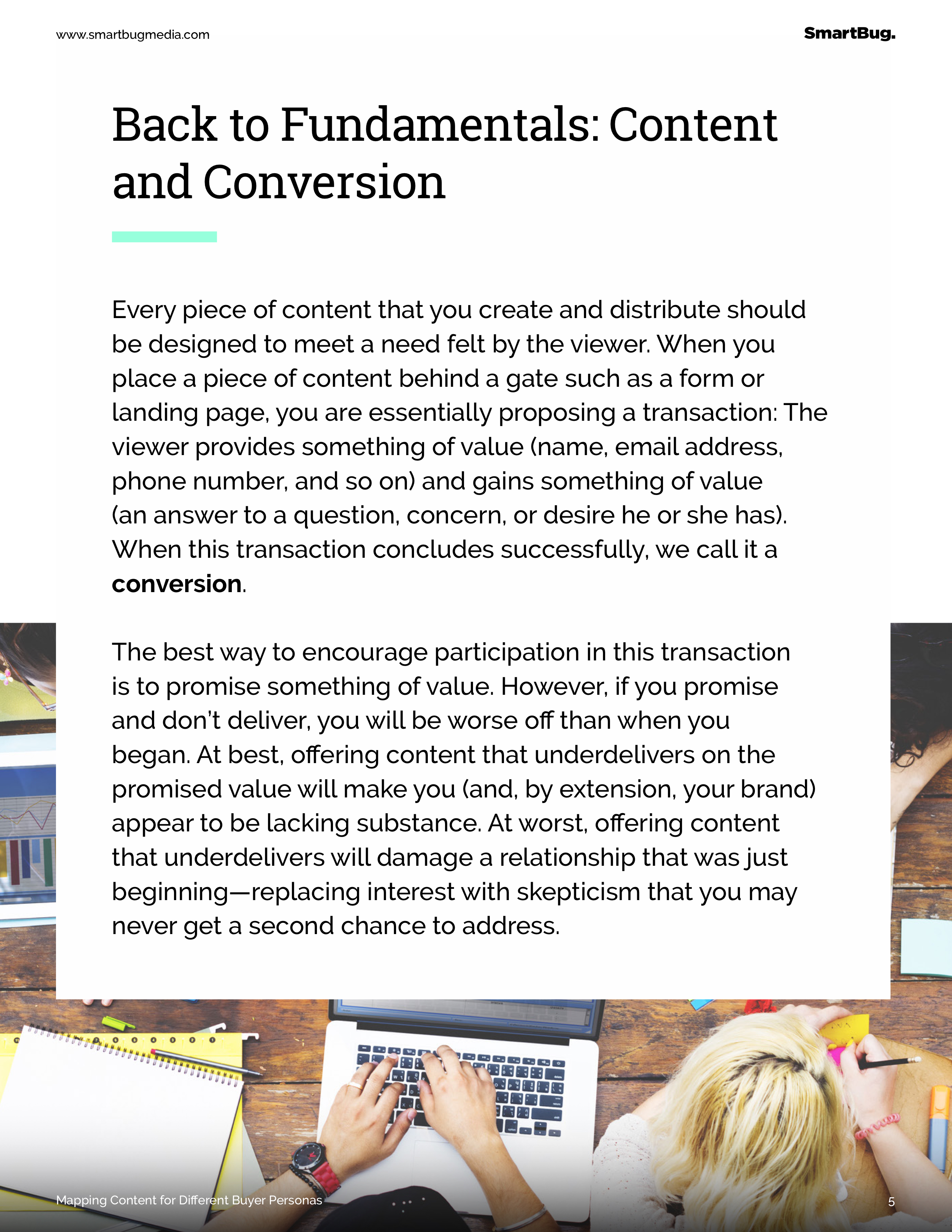 Back to Fundamentals: Content and Conversion