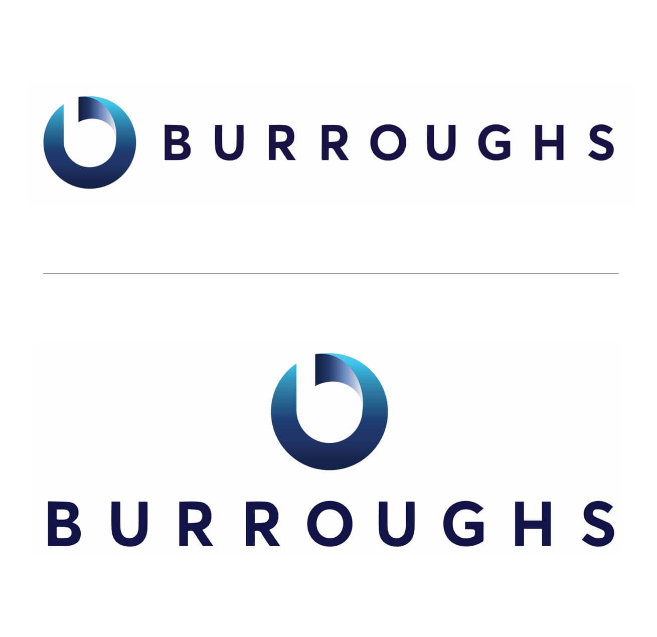 Burroughs Tech Firm Logo Design