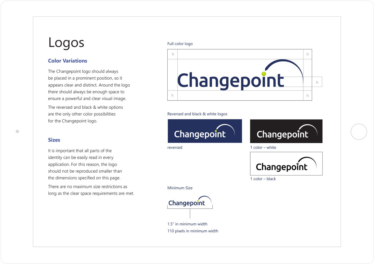 Changepoint revamped logo