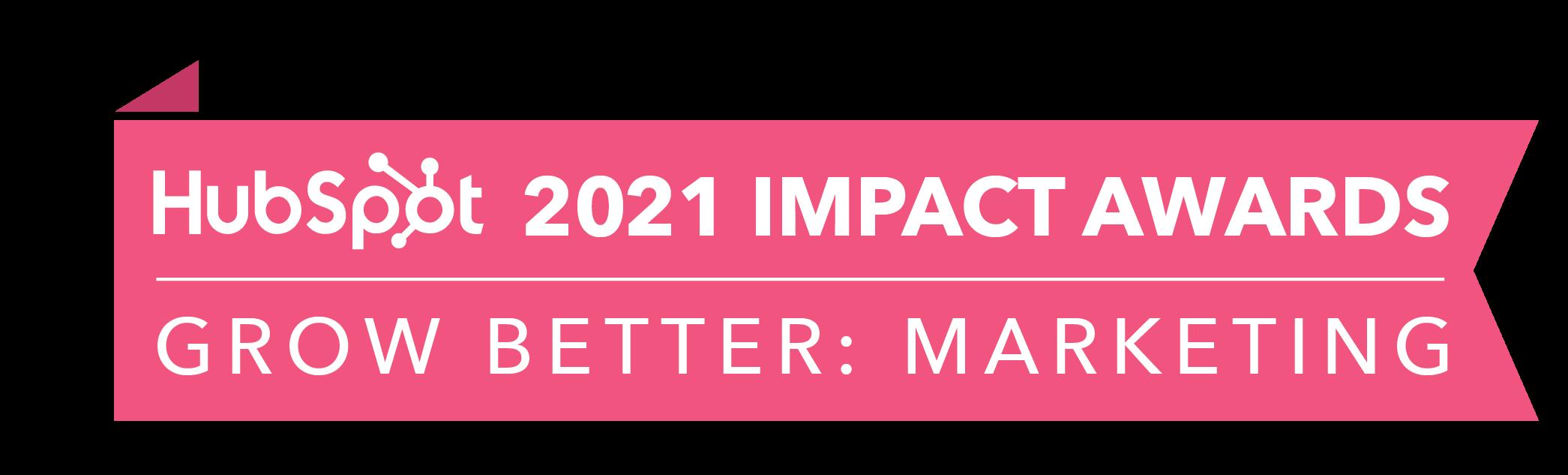 HubSpot Impact Award 2021