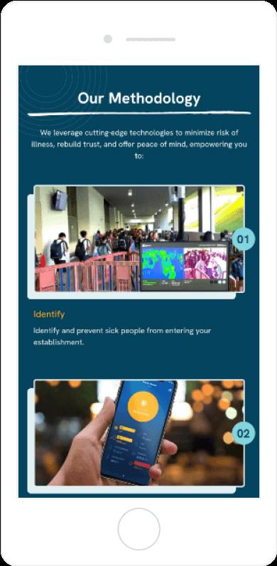 IHT Custom Homepage Mobile View