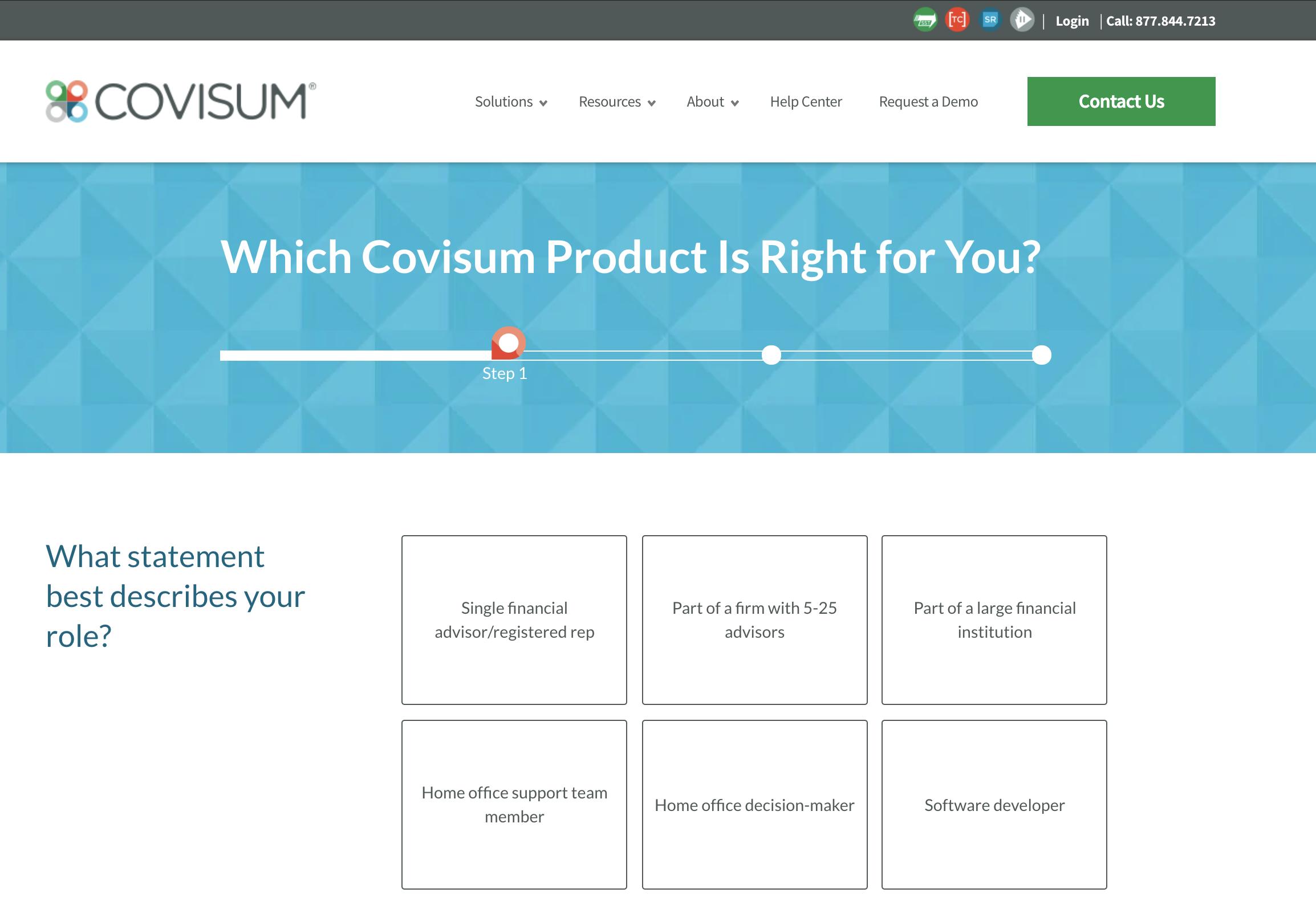Covisum - product matchmaker