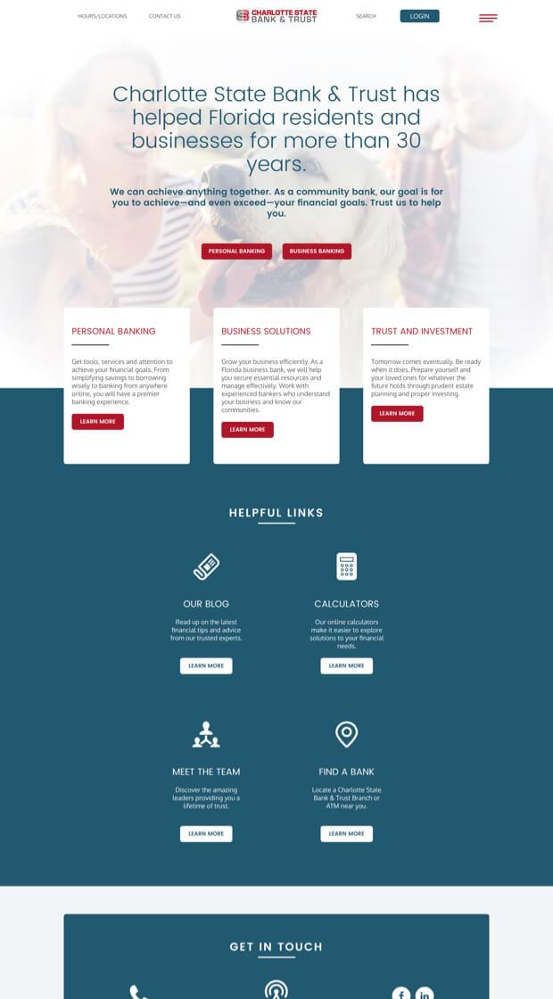 Creating Brand Consistency Crews Website