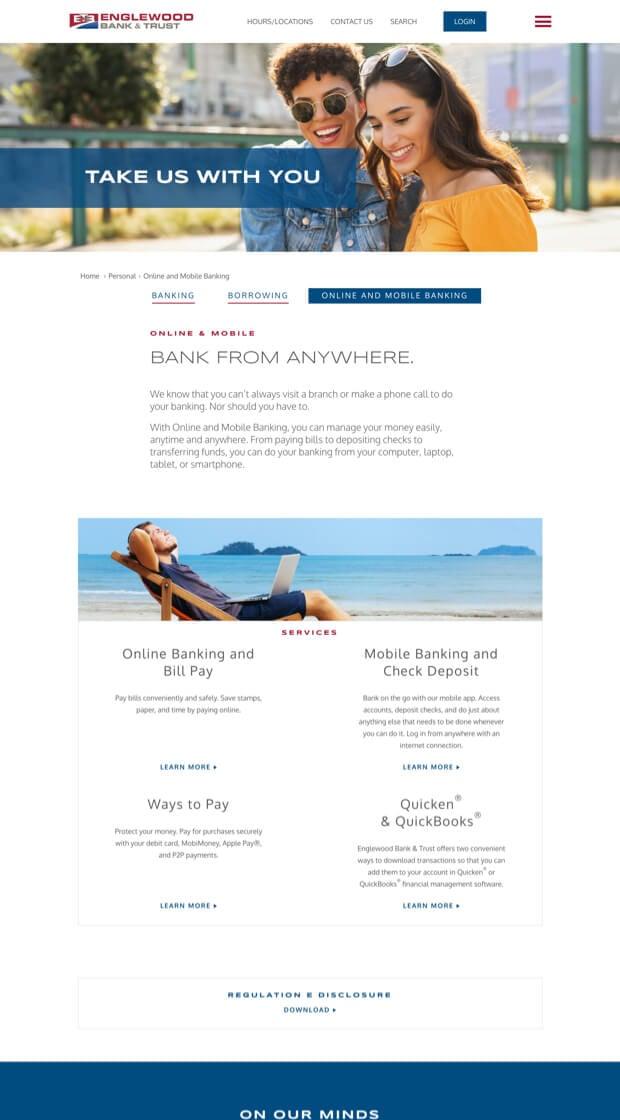 Crews Website Brand Consistency