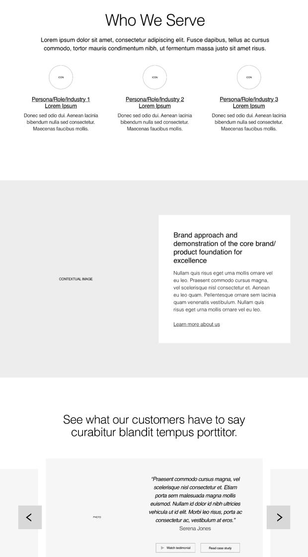 GTN website who we serve