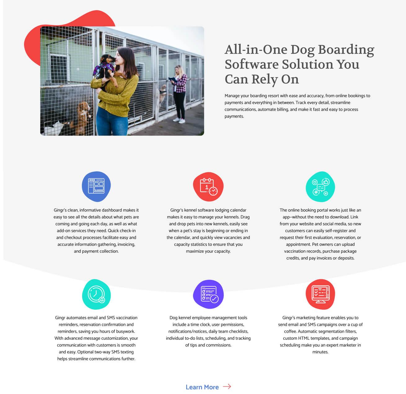 Gingr Website Templates