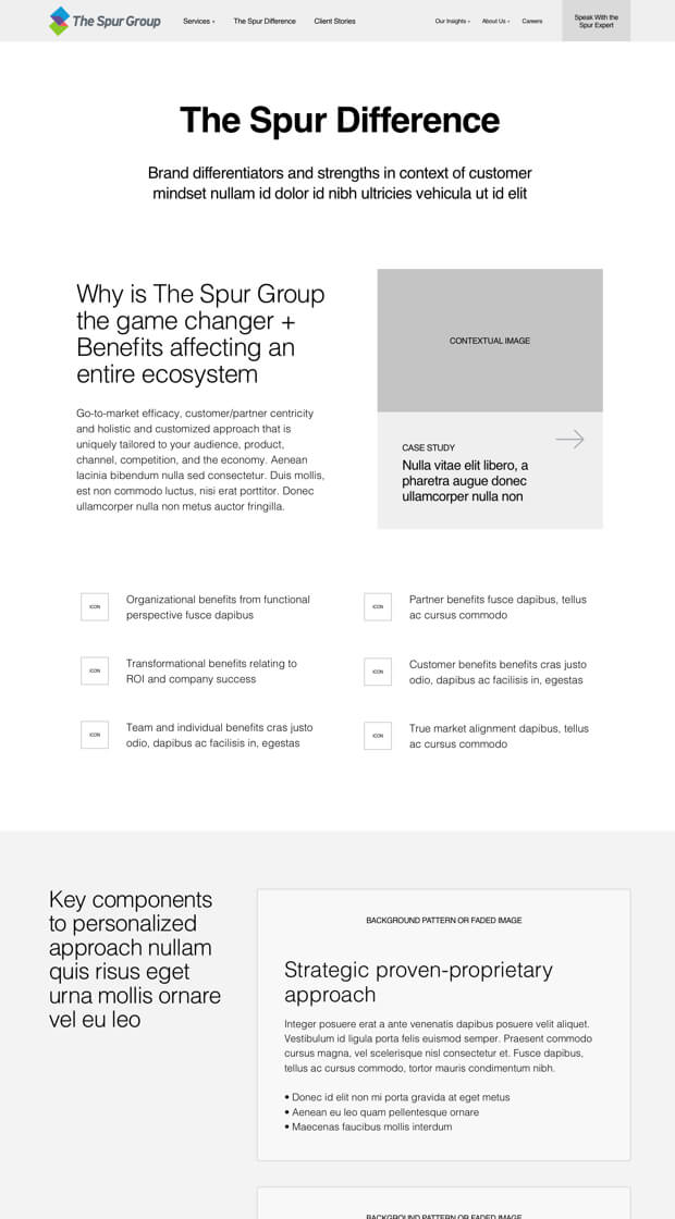 Spur Group Brand Narrative