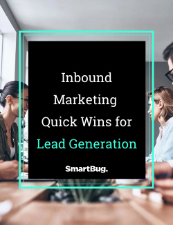 Inbound Marketing Quick Wins for Lead Generation CTA