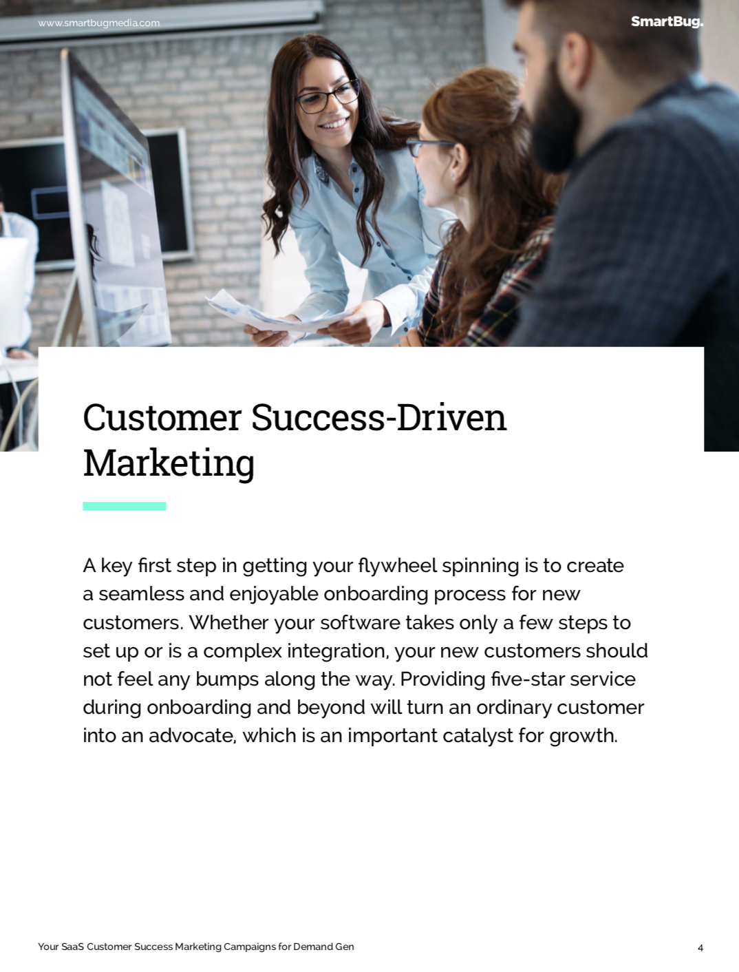 customer success driven marketing